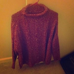 Zara sweater. Red and white