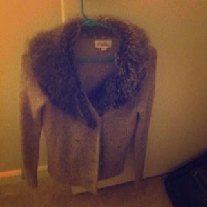 Forever 21 Sweater with fur.