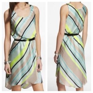 Mint mix dress