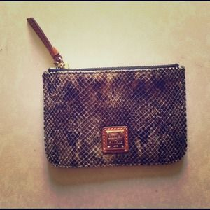 Dooney and Bourke clutch wallet