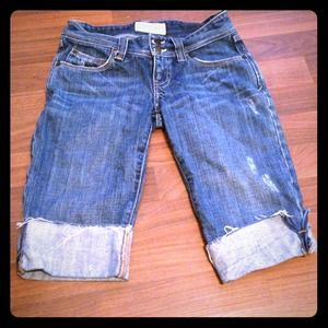 Abercrombie and Fitch Denim Bermuda Shorts 00