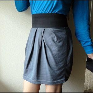 🔴SOLD🔴 Wide Waist Band Mini Skirt
