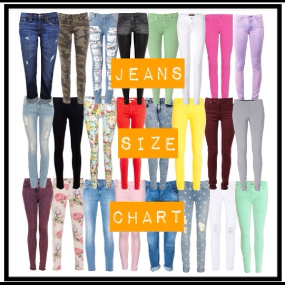 True Religion Designer Jeans Sizing Chart From Laura S