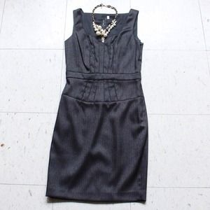 SINE dark brown dress