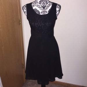 Black Lace cocktail dress small