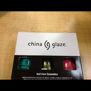 New China Glaze nail polishes