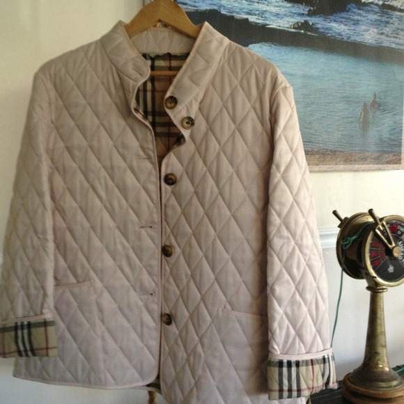 Burberry Jackets Amp Coats Brit Quilted Jacket Poshmark
