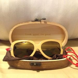 Price Reduced! Wooden Sunglasses by Proof