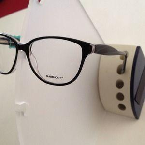 marchon accessories brand new marchon zyl black eyeglass frame - Zyl Frames