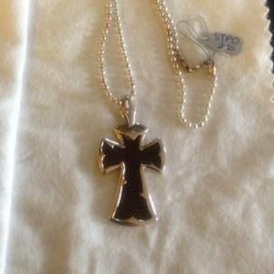 Alan K Jewelry - Alan K Stingray Leather, 925 silver Pendant/Chain