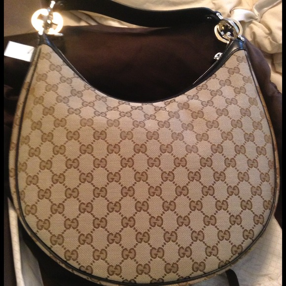 a94bd4d8bbfa Gucci Bags | Gg Twin Hobo Handbag Medium Black Leather | Poshmark