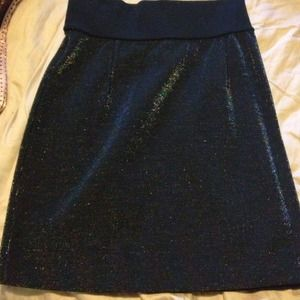See by Chloe knit sparkle skirt