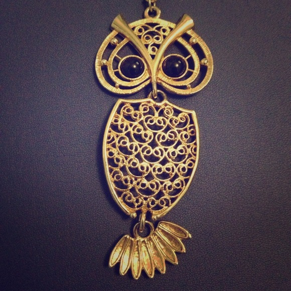 56 off sarah coventry jewelry vintage sarah coventry gold owl vintage sarah coventry gold owl necklace aloadofball Images