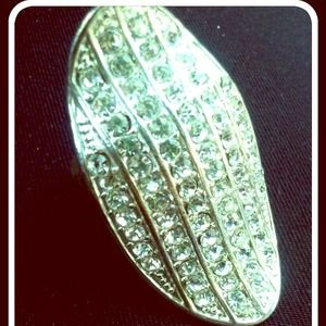 Diamond Statement Ring Size 7!