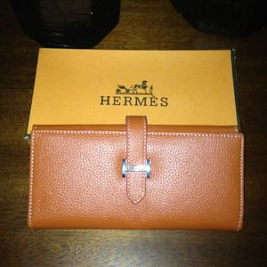 hermes inspired wallet