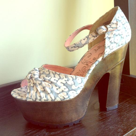 RESERVED - Jelly Pop Chriselle Platform Heels