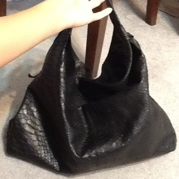 65% off Furla Handbags - Furla Snake skin Hobo bag from Katu's ...