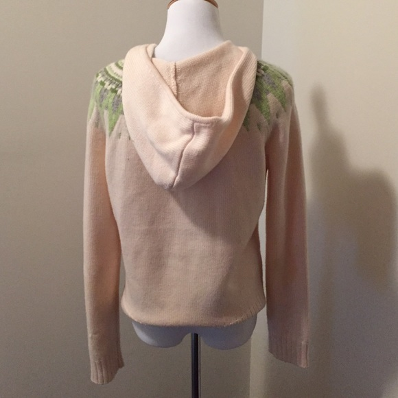 73% off Ann Taylor Sweaters - Ann Taylor Fair Isle zip up sweater ...