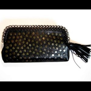 NEW Black studded clutch/crossbody