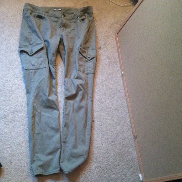 express green pants - Pi Pants