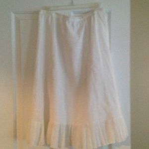 Pretty Spring/Summer White Skirt