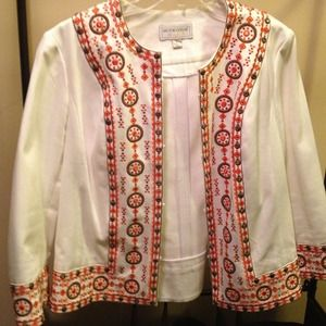 Jackets & Coats - Crop Style Embellished Jacket.