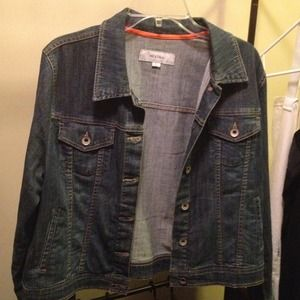REDUCED!! Slightly distressed jean jacket