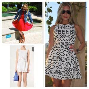 [bundle] 2 dresses and 1 romper