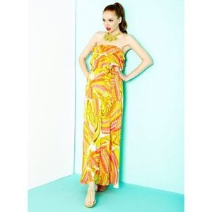 Trina Turk Dresses & Skirts - [Trina Turk x BR]pisces strapless patio dress