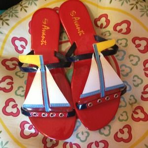 Shoes - Size 8 Sailboat Sandals