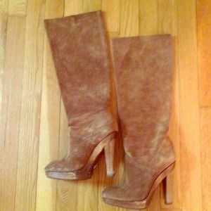 Michael Kors Leather Suede Boots - Sz 6 - Like New