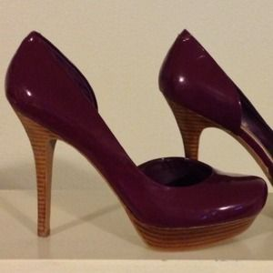 Jessica Simpson Shoes - 💕Reduced💕D'Orsay Plum Perfect