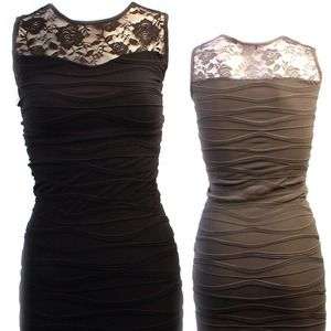 Dresses & Skirts - Black dress.Same as the one in the middle.