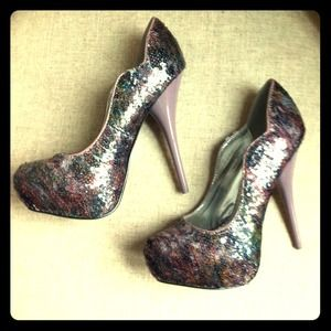 Shoedazzle Shoes - *Host Pick!* New Sequined Party Heels