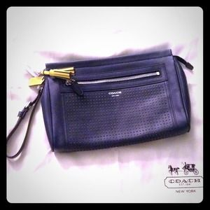 Authentic Coach Legacy clutch/wristlet