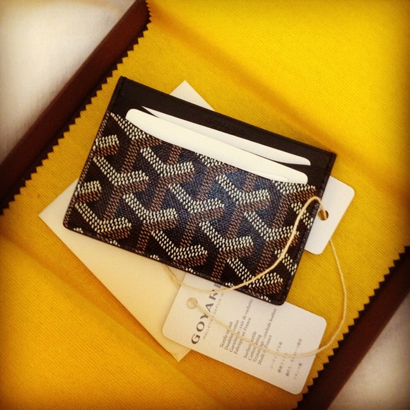 Goyard Authentic Goyard Card Holder From Jeremy S Closet