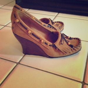 Sam Edelman moccasin wedges