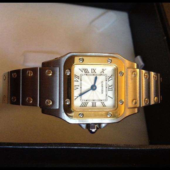 Cartier Jewelry Santos Watch Poshmark