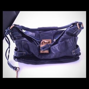 Chloe Paddington Handbag - denim blue