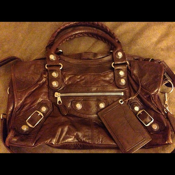 9d30fec6c81 Balenciaga Bags | Authentic Lambskin Giant 12 Silver City | Poshmark