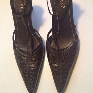 Ralph Lauren pointy heels