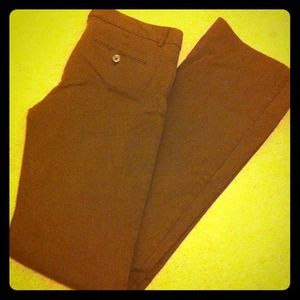 The Limited Pants - The Limited- size 4L Brown Khaki's