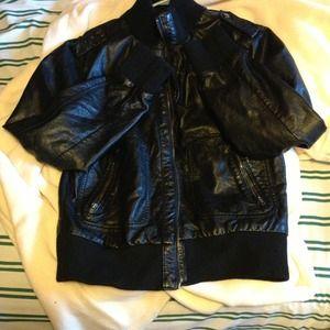 Xhilaration Jackets & Coats - Black leather jacket