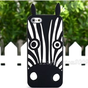 iPhone 5 5G silicone case and screen cover