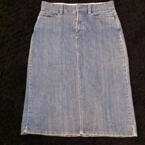 GAP Dresses & Skirts - Gap Denim Pencil Skirt