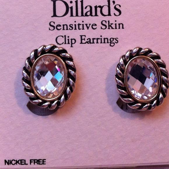 fd0c3fbc3 Dillard's Jewelry   Nwt Nickel Free Clip Earrings   Poshmark