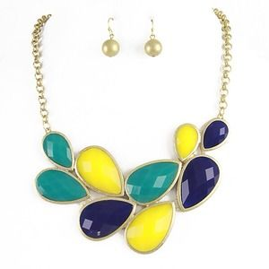 """As seen on Tamra of RHOOC"" Bright Bib necklace"