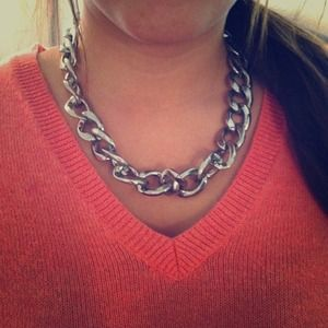 **ON HOLD!** Forever 21 silver chain necklace!