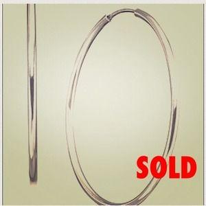 Giani Bernini Jewelry - SOLD • Giani Bernini Sterling Silver Hoop Earrings