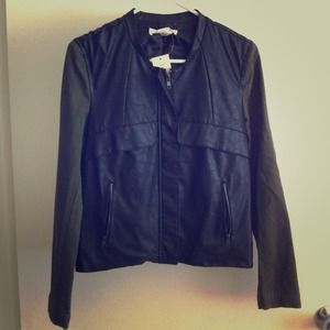 Zara inspired faux leather jacket ❤